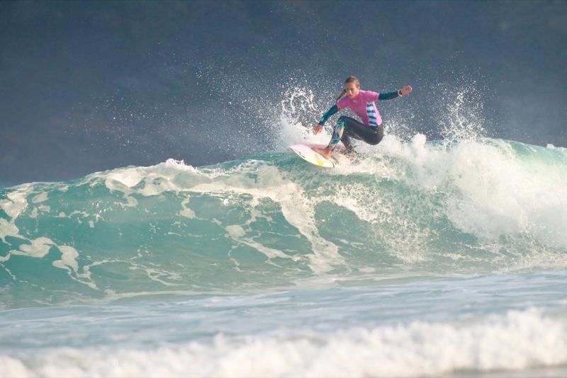 Justine Dupont 5ème au Pantin Classic Galicia Pro 2016