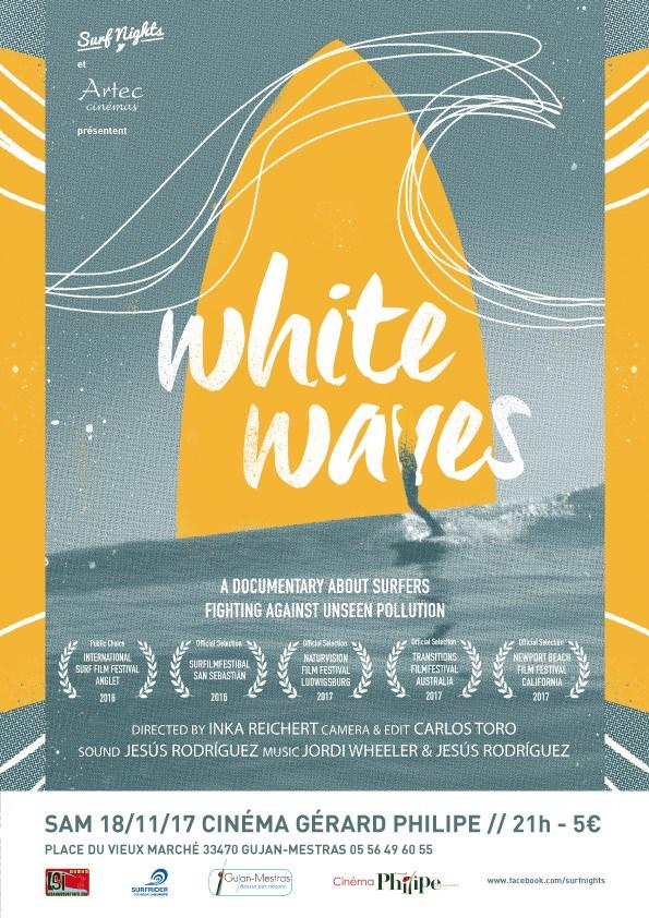 white waves surf nights