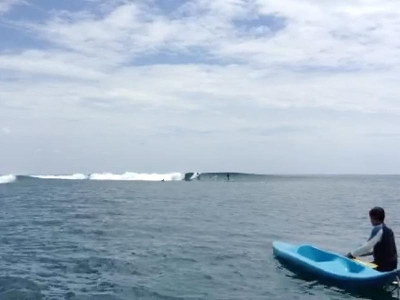 Débuter l'année à Tahiti avec Geoff Henno