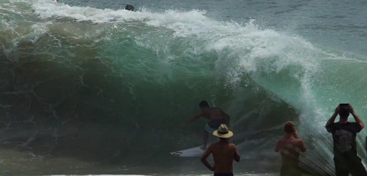 VIDEO DU JOUR | Cyclone Oma - Snapper