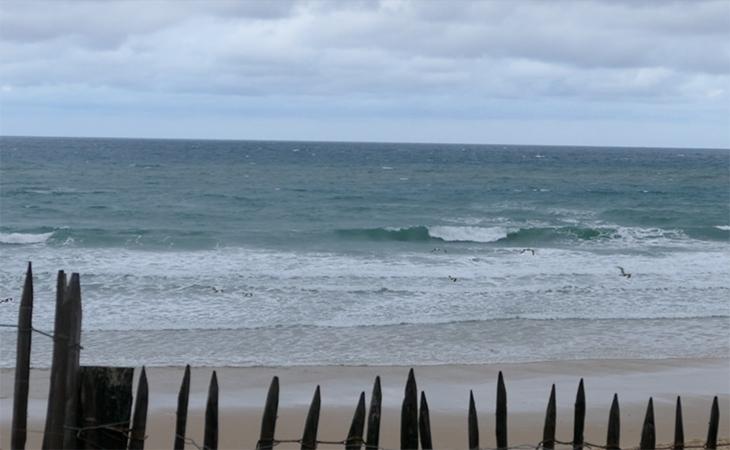 Lacanau Surf Report Vidéo - Dimanche 11 Avril 8H15