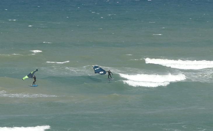 Lacanau Surf Report Vidéo - Dimanche 11 Avril 11H30
