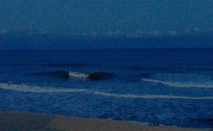 Lacanau Surf Report Vidéo - Lundi 12 Avril 7H15