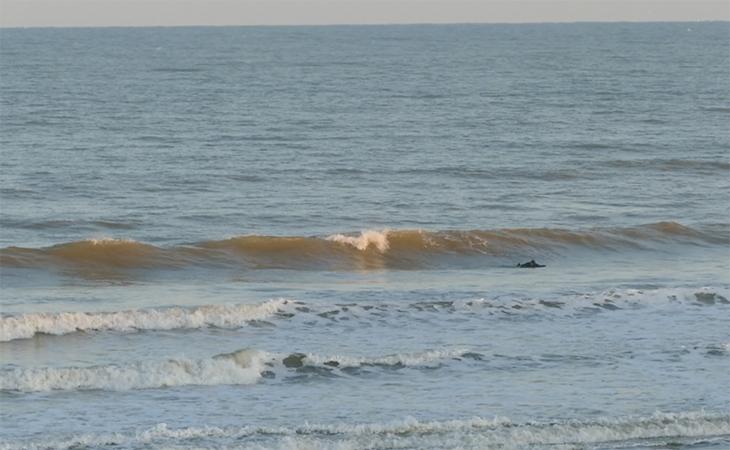 Lacanau Surf Report Vidéo - Lundi 12 Avril 8H15