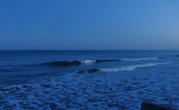 Lacanau Surf Report Vidéo - Mardi 13 Avril 7H