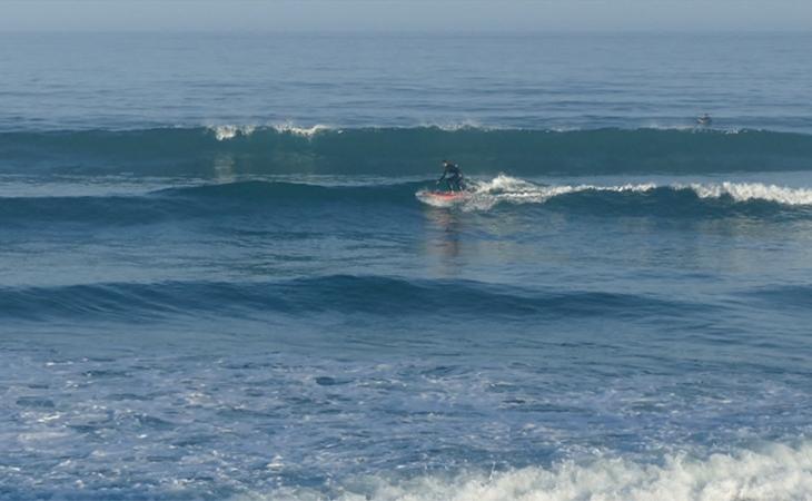 Lacanau Surf Report Vidéo - Lundi 14 Juin 7H50