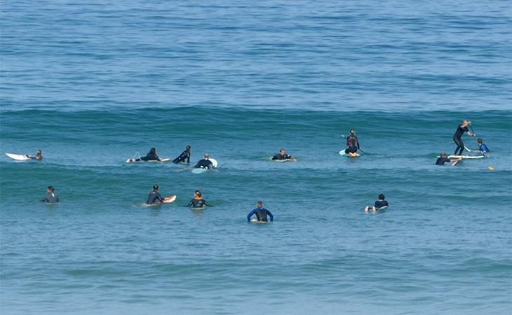 Lacanau Surf Report Vidéo - Lundi 14 Juin 11H30