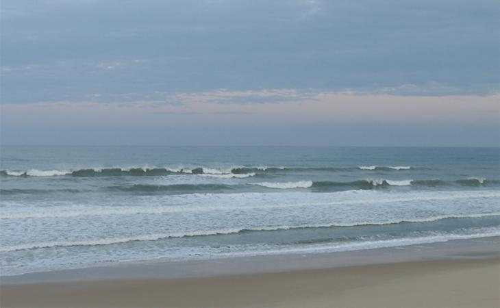 Lacanau Surf Report Vidéo - Mardi 21 Septembre 8H15