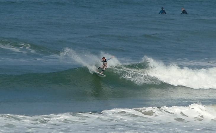 Lacanau Surf Report Vidéo - Mardi 21 Septembre 11H30