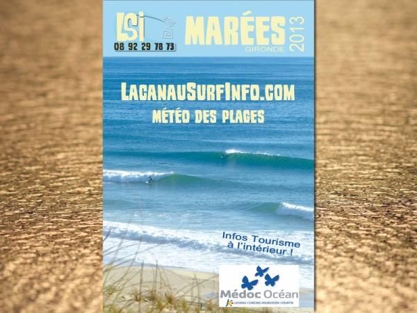 guide des marées lacanau surf info 2013