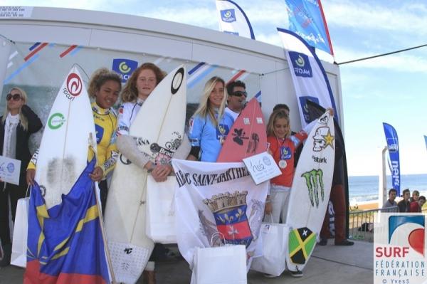 resultats championnats france surf