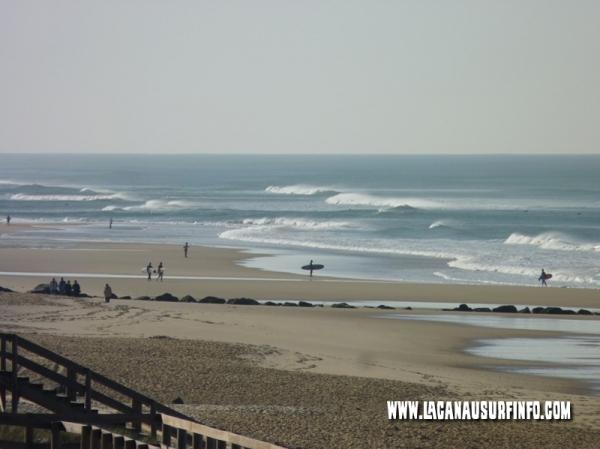 spots de surf de lacanau
