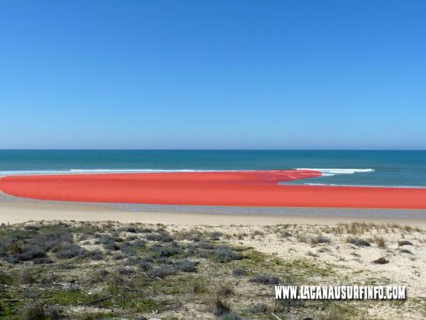 banc de sable oblique