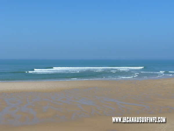banc de sable ovale