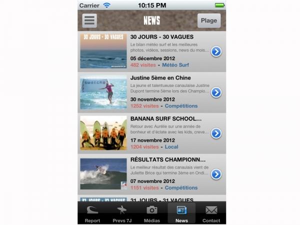 L'application LSI pour votre SMARTPHONE