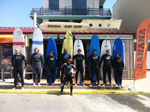 stade francais cours de surf