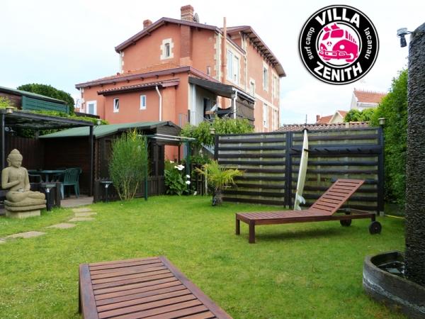 Hebergement-Lacanau-Hotel-Camping-Surf Camp à Lacanau - VILLA ZENITH