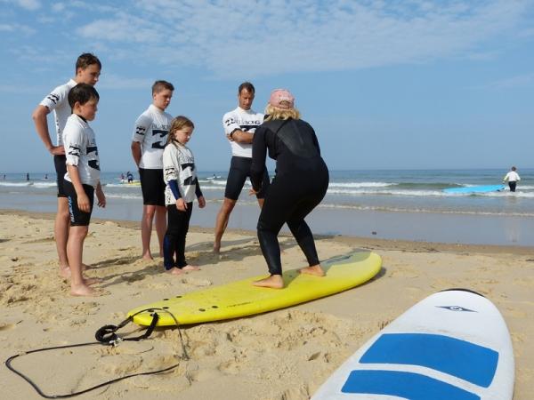 Ecole de surf Bo and Co