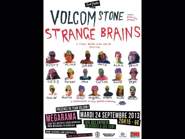 Surf nights présente Strange Brains
