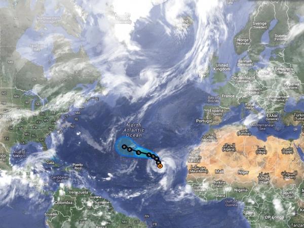 Dépression Tropicale Gabrielle et Cyclone Humberto