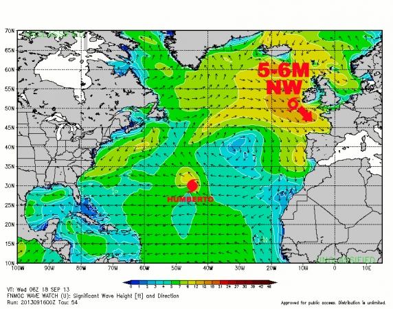 Dépression Tropicale Gabrielle - Swell du 19-20-21 septembre