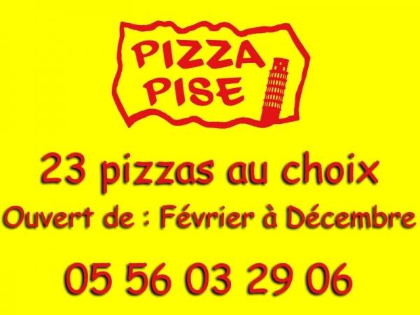 Pizzeria Pizza Pise - Ouverture