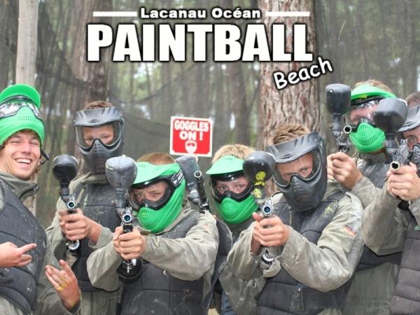 Paintball Beach Lacanau Océan