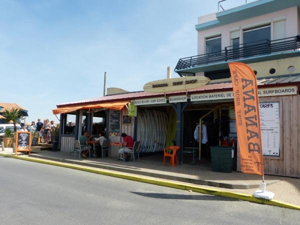 Banana Surf Shop Café and School - BANANA SURF SHOP