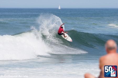 Résultats Coupe de France Surf à Hossegor