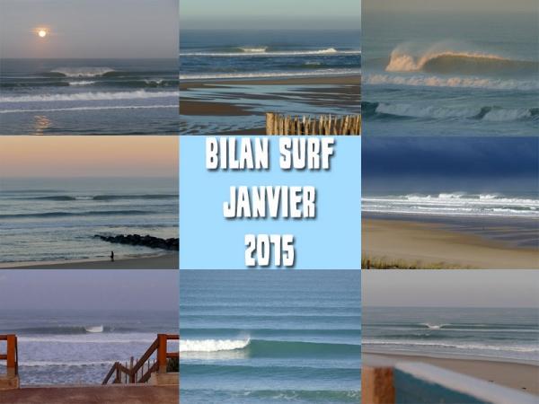 Bilan Surf Janvier 2015