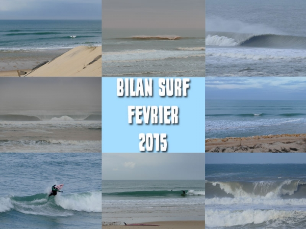 Bilan Surf Février 2015