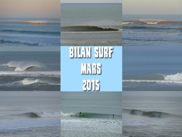 Bilan Surf Mars 2015