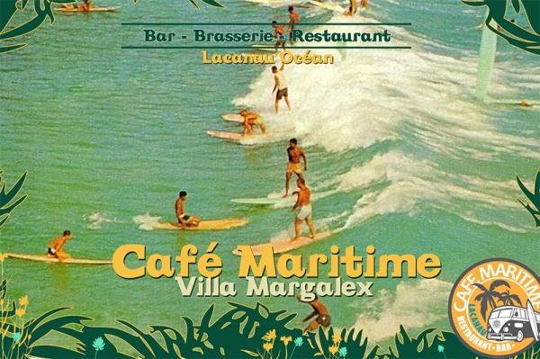 Restaurant à Lacanau - Surf Café - Pizzeria - Sandwich - RESTAURANT LE CAFÉ MARITIME