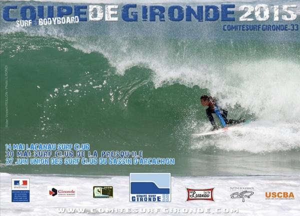 1ère étape Coupe de Gironde Surf et Bodyboard 2015