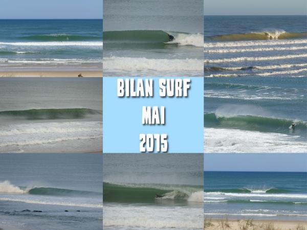Bilan Surf Mai 2015