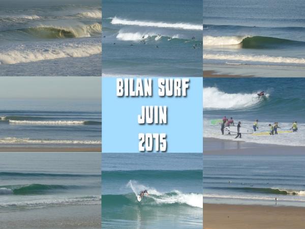Bilan Surf Juin 2015