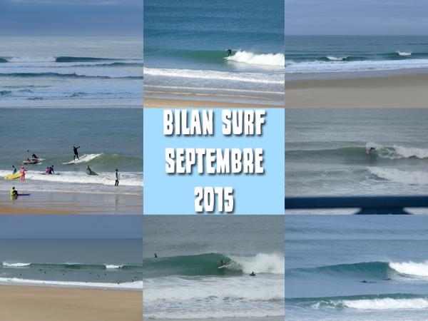 Bilan Surf Septembre 2015