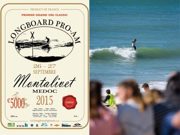 Résultats Montalivet Longboard Pro-Am 2015 -  © Robbie Conder
