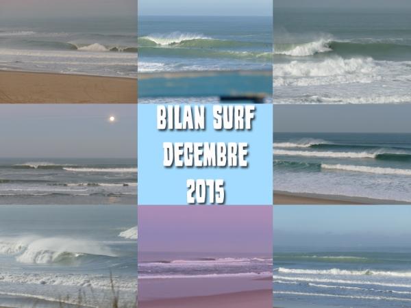 Bilan Surf Décembre 2015
