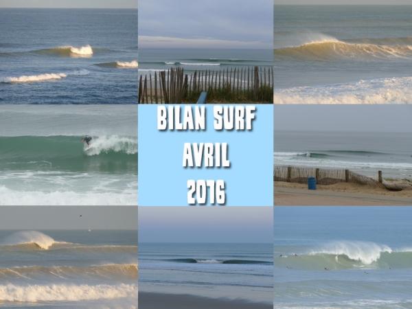 Bilan Surf Avril 2016