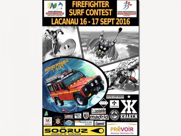 Firefighter Surf Contest 2016