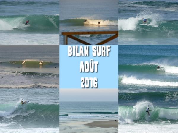 Bilan Surf Août 2016