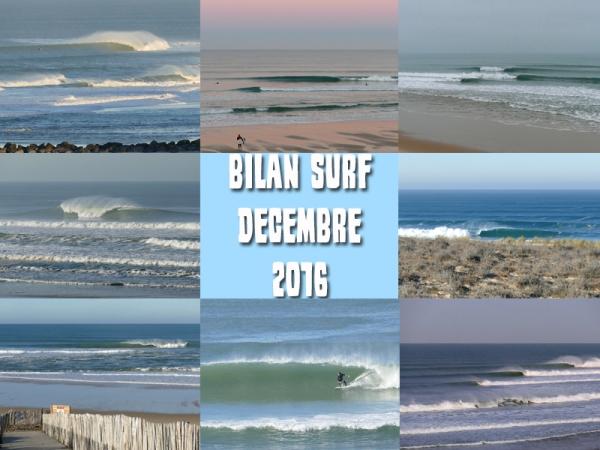 Bilan Surf Décembre 2016