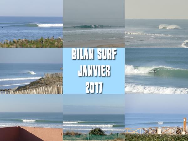Bilan Surf Janvier 2017