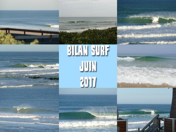 Bilan Surf Juin 2017