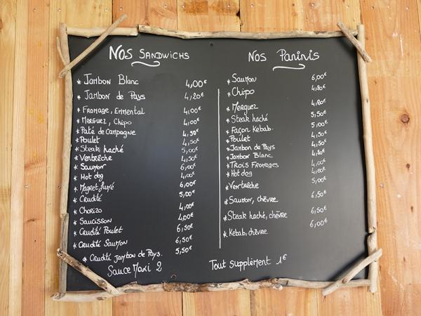 Arona - Les sandwichs à Lacanau