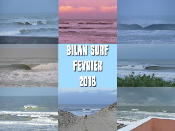 Bilan Surf Février 2018