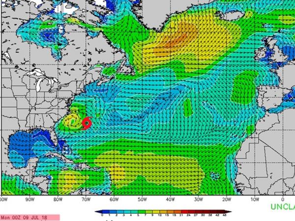 Cyclone Chris - Swell du 16 au 20 juillet
