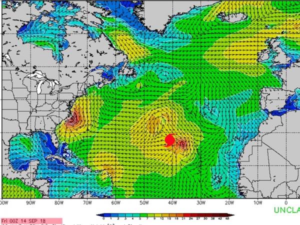 Cyclone Hélène - Swell du 17 au 19 septembre