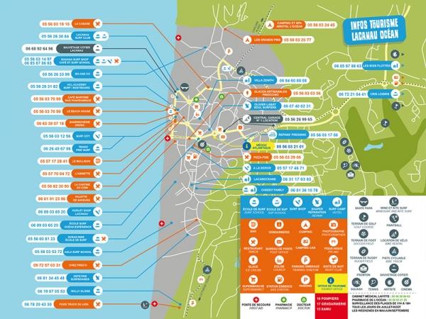 Guide des Marées Lacanau 2019